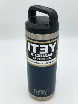 New 18 oz Yeti Stainless Steel Rambler Bottle