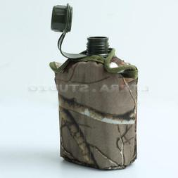New 1L Army Military Canteen Hydration Water Bottle For Outd