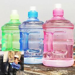 New 1L Large Big Sport Gym Training Drink Water Bottle Cap K