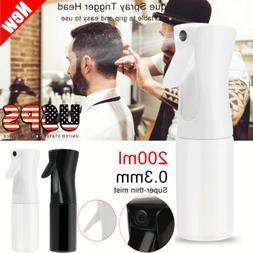New 200ml Hair Spray Mist Empty Water Bottle Sprayer Salon H
