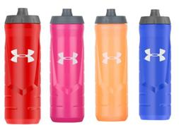 New Under Armour 32 Oz Squeeze Water Bottle Quick Shot Gym S