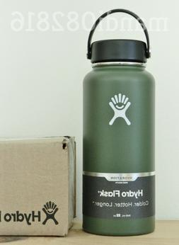 NEW! HYDRO FLASK 32oz WIDE MOUTH VACUUM INSULATED STAINLESS