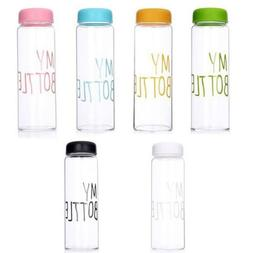 New Clear My Bottle Sport Fruit Juice Water Cup Portable 500
