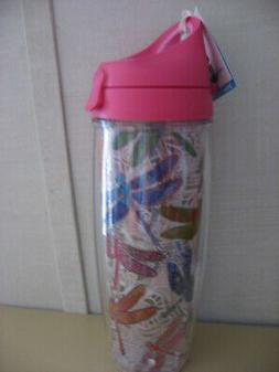 """NEW  """"DRAGONFLY"""" Wrap 24 oz Tervis Water Bottle - Made in US"""