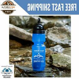 New Genuine Sports Berkey Portable Water Bottle with Filter,