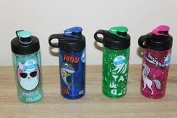NEW Cool Gear GHUG Water Bottle 16oz - Shark, Wild, Unicorn