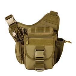 New Men Nylon Shoulder Messenger Saddle Bag Military Tactica