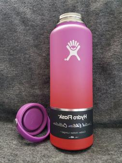 New official Limited Edition ombre Hydro Flask Pink n Red In