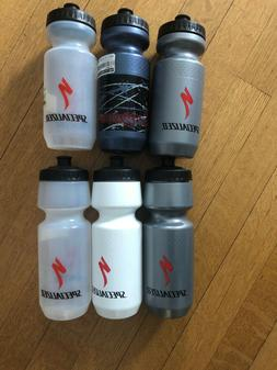 New-Old-Stock Specialized Big Mouth Water Bottles 24 oz.-- V