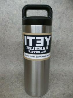 NEW Yeti Rambler 18oz Water Bottle Stainless Steel  ~Free Sh