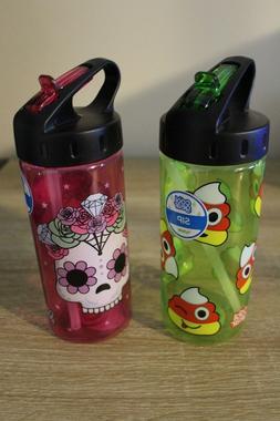 NEW Cool Gear Sip Kids Water Bottle 16 Oz BPA Free - Candy C