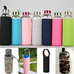 New Sport Water Bottle Case Insulator Bag Neoprene Pouch Hol
