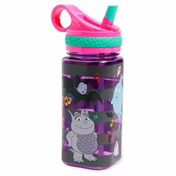 NEW Disney Store Vampirina Water Bottle with Straw 16oz