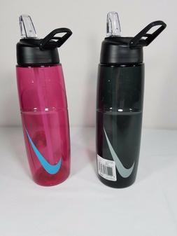New Nike T1 Flow Swoosh Water bottle 32OZ NOB9161532 Pink Bl