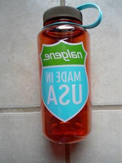 NEW Nalgene Tritan 32oz Plastic Water Bottle Wide Mouth BPA-