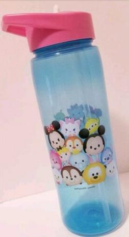 NEW Tsum Tsum water Bottle 25oz ZAK Water Bottle BLUE PINK