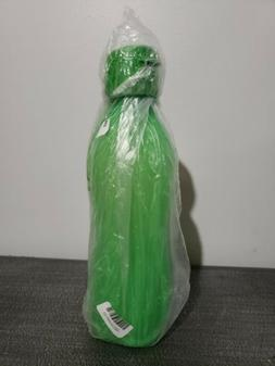 New Tupperware Large Green Eco Water Bottle 1L Flip  Cap Gym