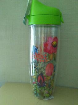 new watercolor wildflowers wrap 24 oz water