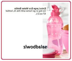 TUPPERWARE New X-LARGE ECO WATER BOTTLE with Flip Top Cap 67