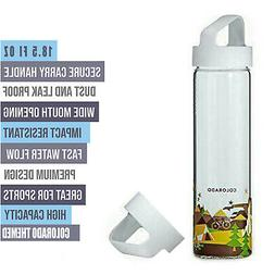 New Starbucks You Are Here Collection Glass Water Bottle, Co
