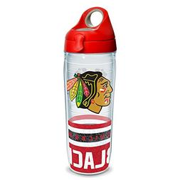 Tervis NHL Chicago Blackhawks Wrap Water Bottle with Red Wb