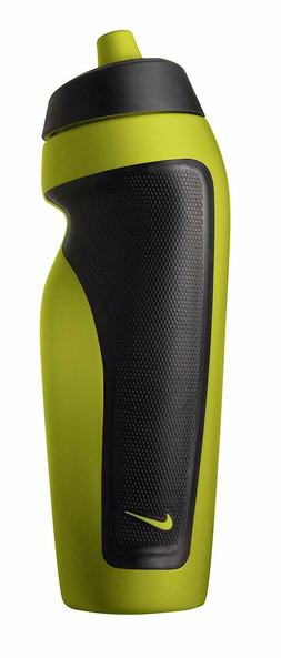 Nike Sport Water Bottle with Hang Tag, Atomic Green/Black, 2