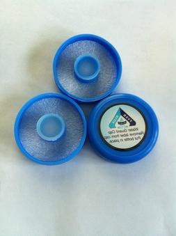 No Spill Reusable Water Bottle Caps 55mm Snap/ Push On  BPA