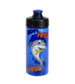 "Cool Gear ""NOM NOM"" Pizza Shark 16 Oz BPA Free Water Bot"