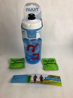 Nuun Hydration 16oz Water Bottle W 2 Sample Flavor Packs by
