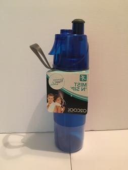 O2 Cool Mist 'N Sip 20 Ounce Sports Water Bottle w/ Mister B