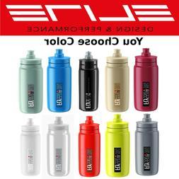 Elite Fly H2O 550ml BPA-free Bio Water Bottle Black Clear Wh