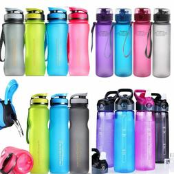 Outdoor Sport Water Bottle Leak Proof Tour Hiking Camp Bottl