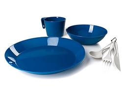 GSI Outdoors Cascadian 1-Person Table Set, Blue