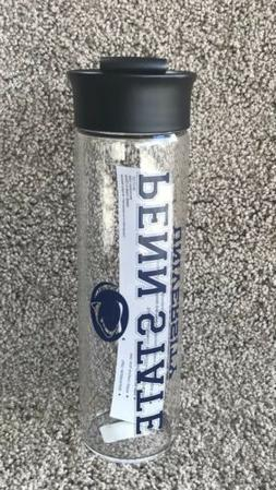 Penn State Nittany Lions Clear Borosilicate Glass Water Beve