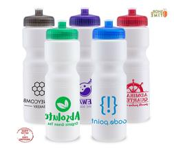 Personalized Sports Water Bottles 28 oz. Printed W/ Logo / S