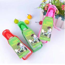 Pet Dog Drink Squeeze Water Bottle & Feeder Portable for Out
