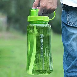 2L Large Capacity Plastic Space Cup Free Leak Proof Portable