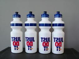NIKE Plastic Water Bottle set of 4 -JUST DO IT 1996 All same