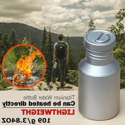 Titanium Water Bottle Leak proof Outdoor Camping Cycling Hik