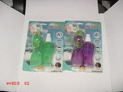 Portable Water Bottle Mister Spray Cooling Fan Handheld Mist