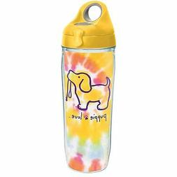 Tervis Puppie Love - Tie Dye Puppy Tumbler with Wrap and Yel