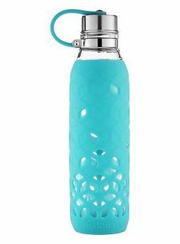 Contigo Purity Glass Water Bottle, 20 oz. with Silicone Peta