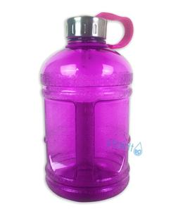 Purple BPA Free Half Gallon Water Bottle Drinking Jug Cantee
