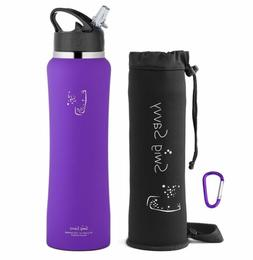 Swig Savvy Purple 32 Oz Stainless Steel Insulated Water Bott