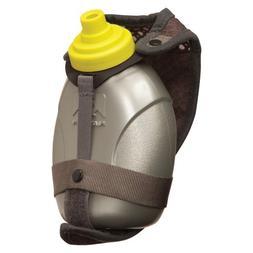 Nathan Quick Shot Handheld Hydration Pack, Grey/Sulphur Spri