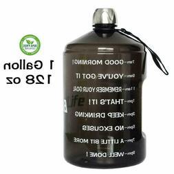 Quifit 128Oz/73Oz/43Oz Water Bottle Reusable Leak-Proof Drin
