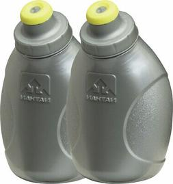 Nathan Replacement Flasks with 10-Ounce Push-Pull Caps, Silv