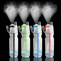 Reusable Mist Water Bottle Multi-functional Sport Spray Drin