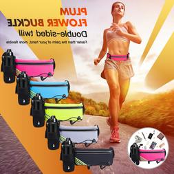 Running Belt Jogging Cycling Waist Pack Pouch Sports Water B