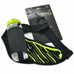 Nike Running Large Bottle Belt With One 22oz Water Bottle, B